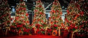 Circle Craft Christmas Tree